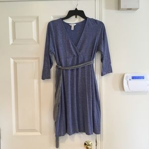 Cotton maternity dress